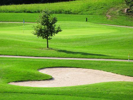 Golf course Stock Photo - 6160069