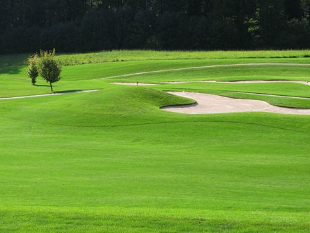 traps: Golf course