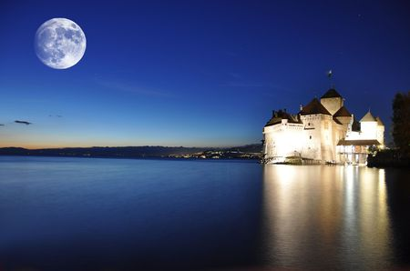 Chillon castle, Lake Geneva photo