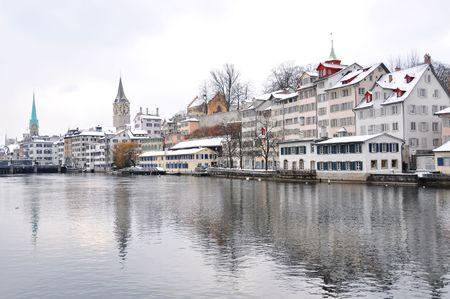 gabled: Winter in Zurich