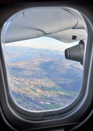 aeronautical: Window view
