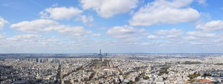 Panorama of Paris photo