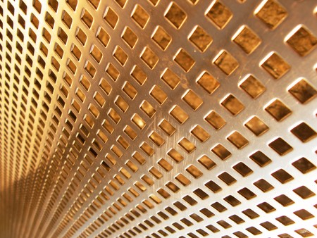 netlike: Bronze mesh Stock Photo