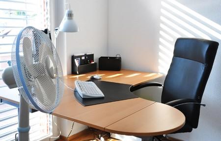 Fan in the office Stock Photo - 7409958