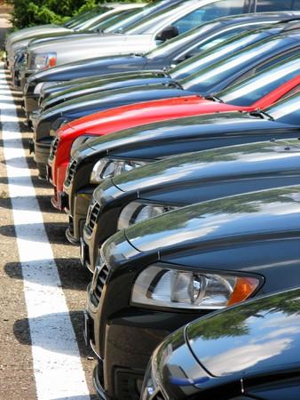 Row of cars Stock Photo - 7409965