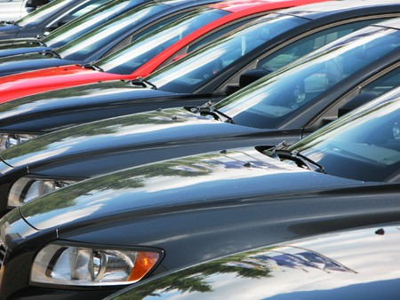 Row of cars Stock Photo - 7409964