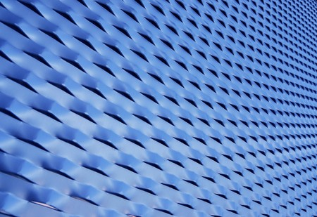 meshed: Blue mesh texture