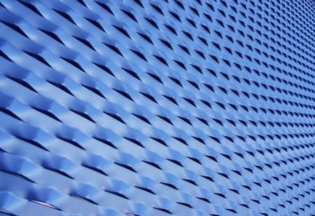 reticular: Blue mesh texture