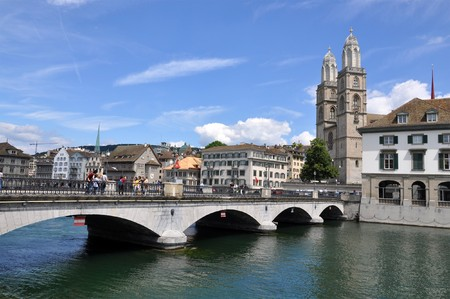 Zurich downtown photo