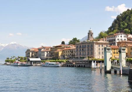 Bellagio Stadt an der berühmten italienischen Comer See