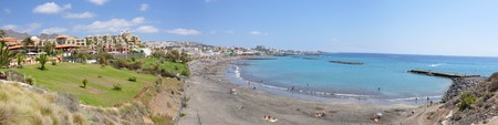 adeje: Torviscas playa. Tenerife, Canaries