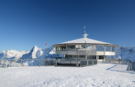Schilthorn, Switzerland Editorial