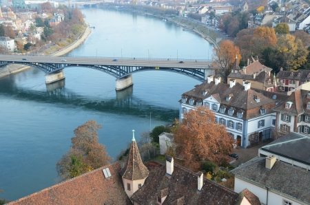 rhine: Basel, Switzerland  Stock Photo
