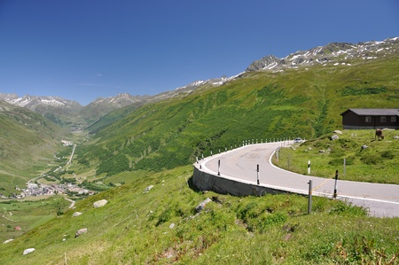 Furka pass, Switzerland  photo