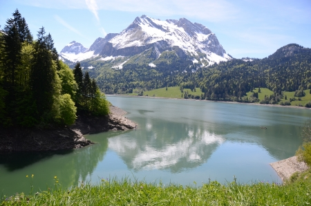 Waegitalersee, Switzerland  photo
