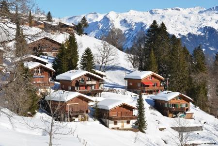 alpine hut: Holiday cottages in Braunwald, Switzerland