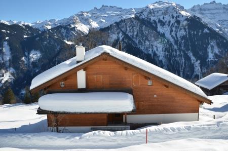 chalets: Braunwald, Switzerland Editorial