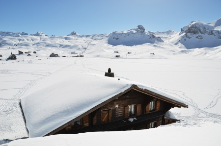 Melchsee-Frutt, Switzerland photo