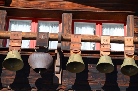 Swiss cow bells  photo
