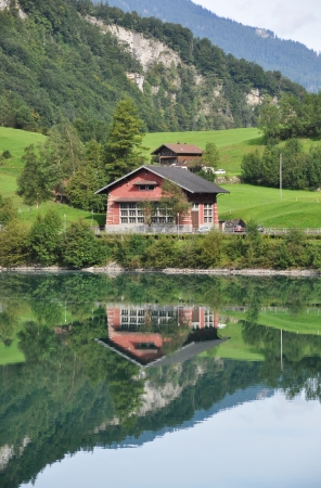 Lungerer lake , Switzerlnd photo