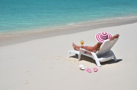 coolie hat: Beach scene