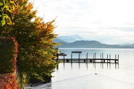 Lake of Zug, Switzerland photo