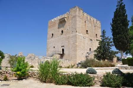 templar: The medieval castle of Kolossi, Cyprus