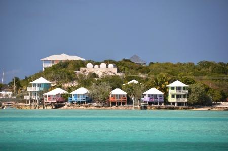 cay: Staniel Cay Yacht Club. Exumas, Bahamas