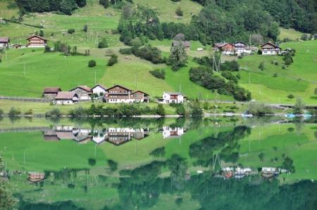Lungerer lake, Switzerland