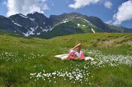 Melchsee-Frutt. Switzerland photo