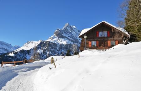 alpine hut: Braunwald, Switzerland Editorial