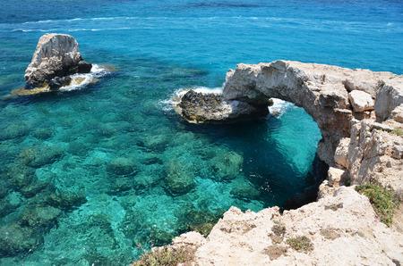 cyprus: Rock arch. Ayia Napa, Cyprus