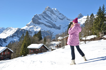 hobby hut: Braunwald, Switzerland