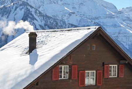 chimney: Holiday cottages in Braunwald, Switzerland