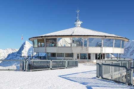 gloria: On the top of Schilthorn mountain, Switzerland