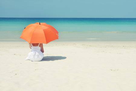 Beach scene. Phuket island, Thailand photo
