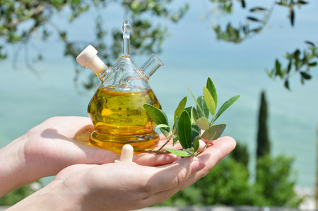 sirmione: Olive oil. Sirmione, Italy