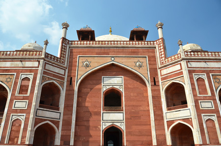 mogul: Humayun tomb. Great Mogul mausoleum, New Delhi, India