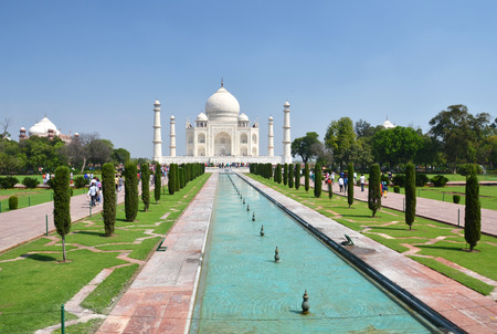 agra: Taj Mahal. Agra, India