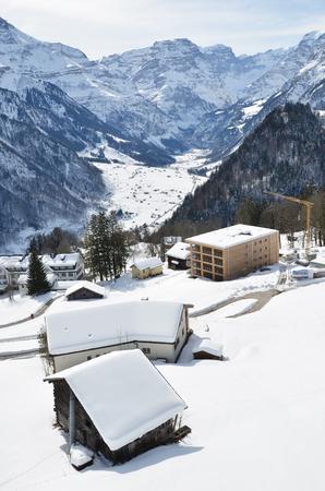 Braunwald, Switzerland Stock Photo