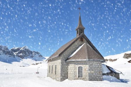Chapel in Melchsee-Frutt, Switzerland