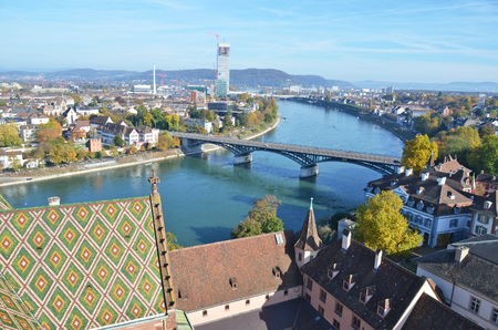 top: Basel from top