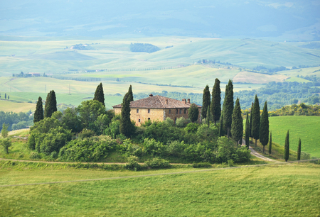italian landscape: Typical Tuscan landscape. Italy