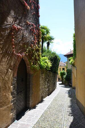 Menaggio town, Lake Como, Italy Stock Photo
