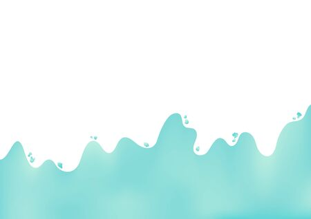 Abstract turquoise gradient background.Vector illustration. Vectores