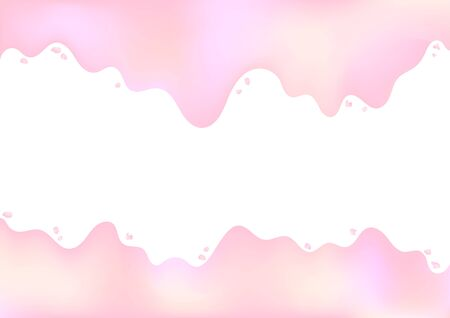 Abstract colorful pastel gradient background (pink, yellow, violet).Vector illustration.
