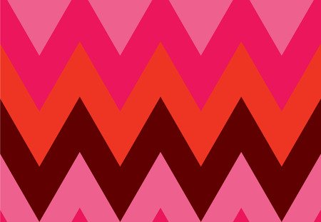 Seamless colorful pattern in chevron formation