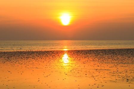 sunset background photo