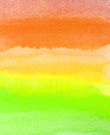 colorful watercolor brush strokes for background Stock Photo - 8766814