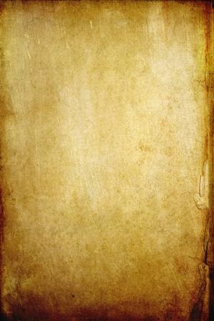 pergamino: Fondo de papel de viejo grunge con espacio